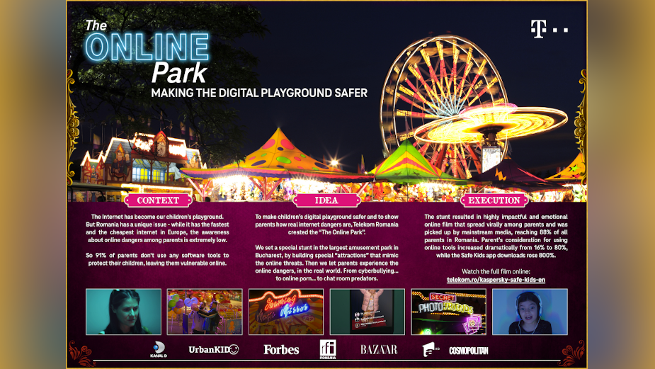Telekom Highlights Online Threats to Kids with The Online Park