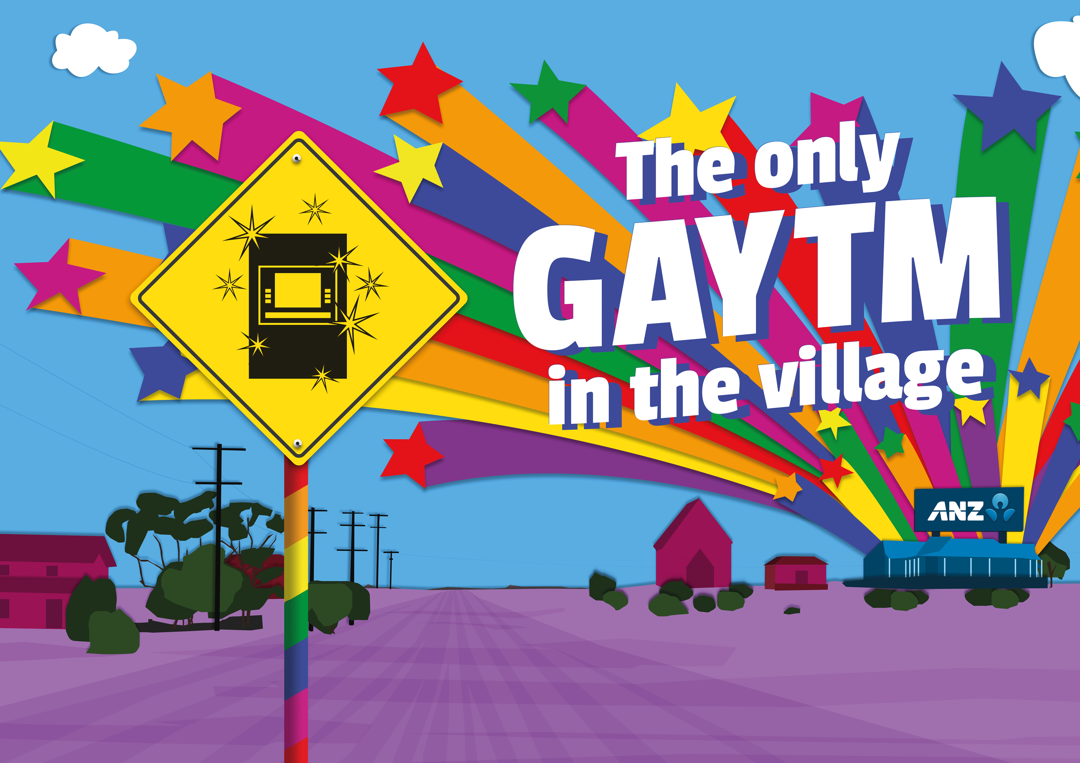 'The Only GAYTM in The Village' Launches via Whybin\TBWA Group Melbourne