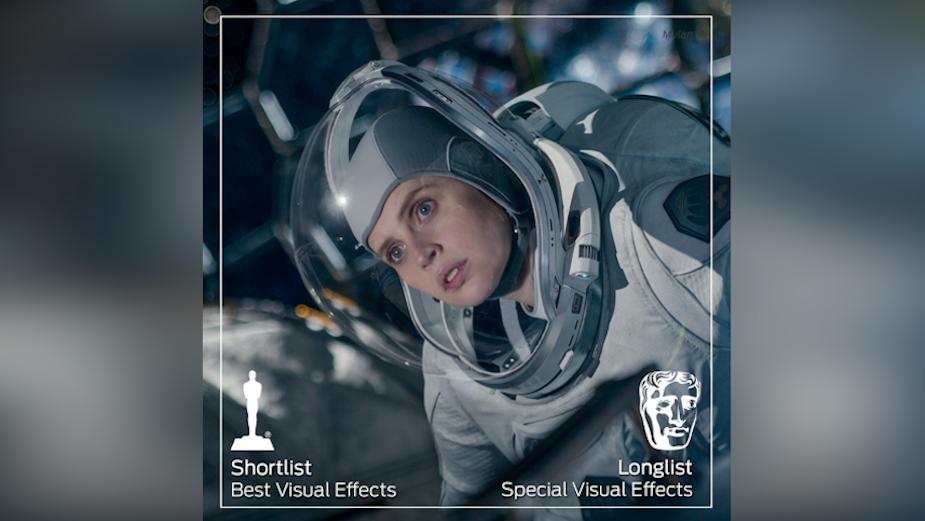 Oscar Shortlist Highlights Framestore's Epic Work