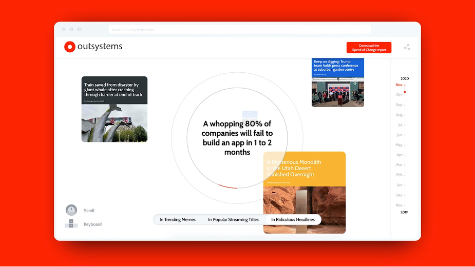 OutSystems Sums up 2020 in Memes, TV Shows and the Year's Weirdest News Headlines
