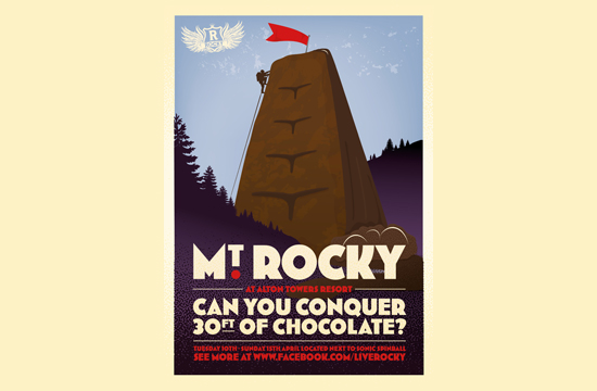 Conquer Mt. Rocky in a new campaign created by Mother