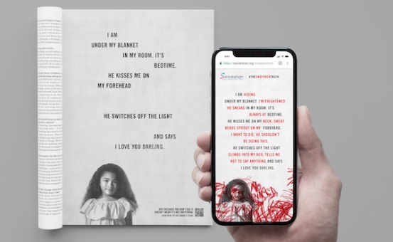 Interactive Posters Help Singapore Open Up About Child Abuse