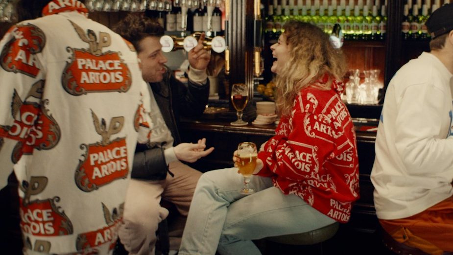 Palace Skateboards and Stella Artois' Secret Pub Savours Life Together