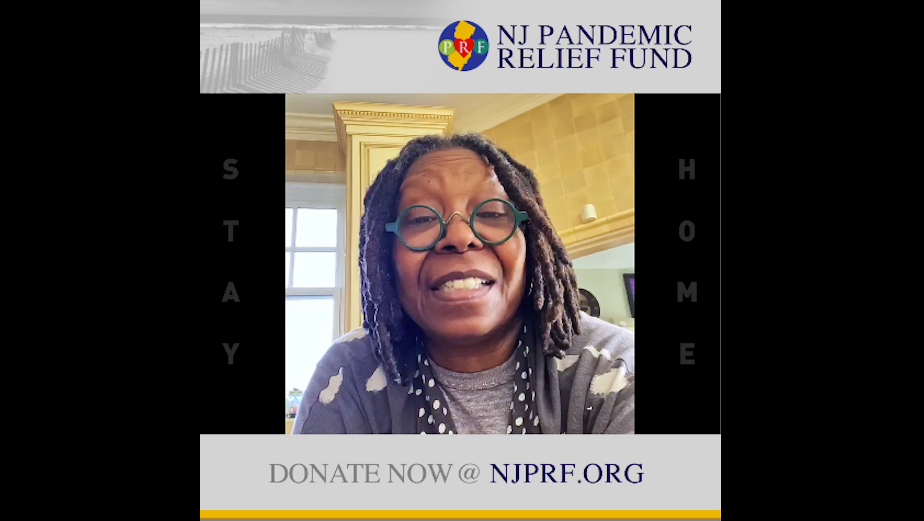 Whoopi Goldberg and Famous New Jerseyans PSAs Raise Money for New Jersey Pandemic Relief Fund