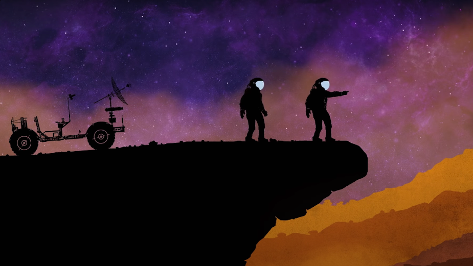 Dan French Unearths Mesmerising Space Rave in Animated Music Video
