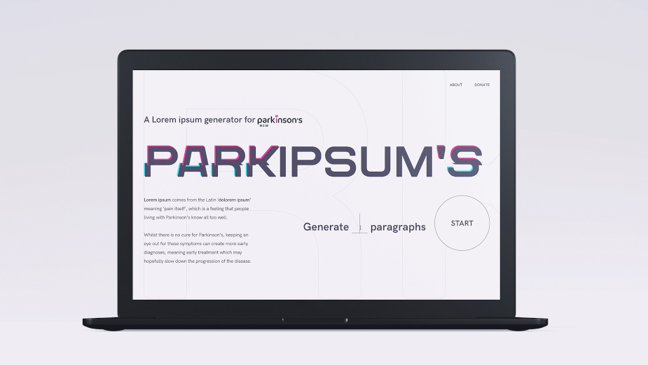 Parkinson's NSW Launches Parkipsum's to Help Spread the Word of Symptoms