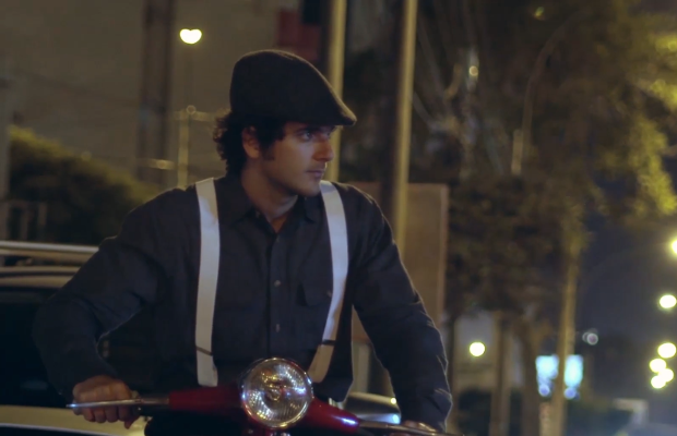 Why Are These Parmesan Cheese Loaded Riders Chasing Takeaway Delivery Drivers Around Lima?