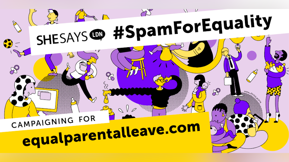 SheSays Asks Employees to Spam Their Boss for Equality