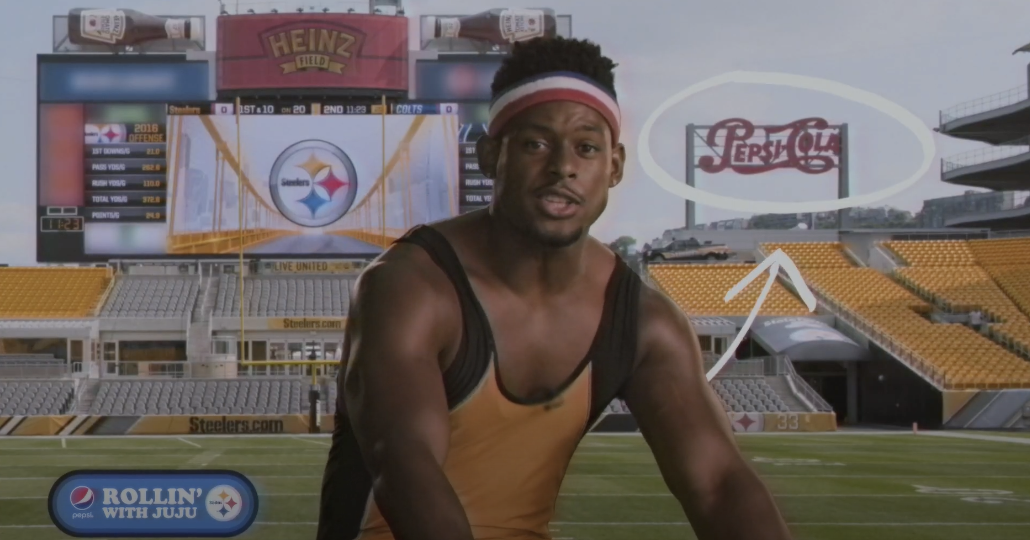 Pepsi Fan Portals Pair NFL Stars with Unlikely Scenarios in Valiant Pictures Campaign