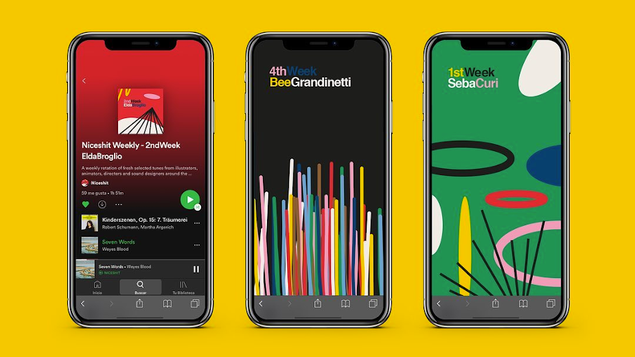 Jelly London Introduces 'Niceshit Weekly' Playlists