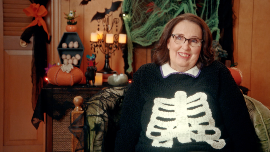 Phyllis Smith 'Slaughters' the Competition in Craft Retailer JOANN's Spooktacular Halloween Campaign