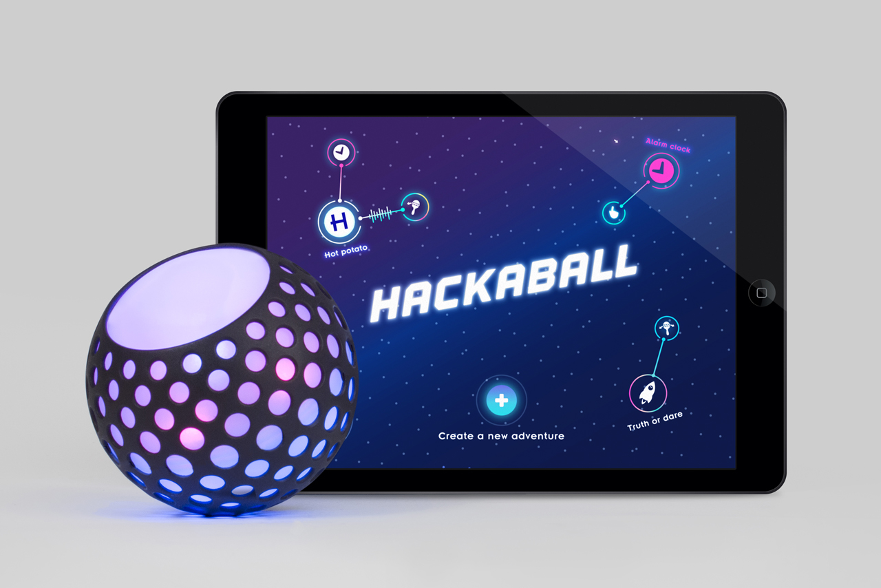 Made by Many and Map Launch Hackaball on Kickstarter