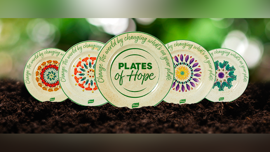 MullenLowe and Knorr Bring World Earth Day to Life Through Plates of Hope