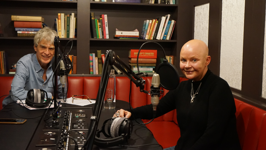 Gail Porter Joins Sir John Hegarty for Second Episode of Sacrifice and Success Podcast