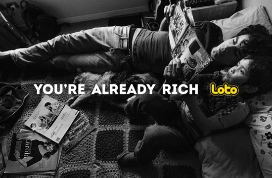 Loto Chile Reminds Players That They're Already Rich
