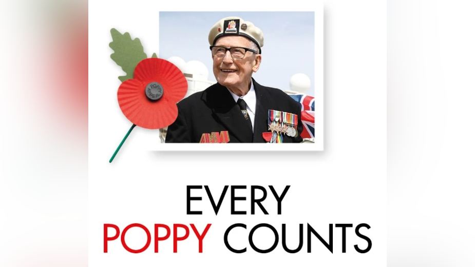 VCCP Media and Leagas Delaney Brings the Royal British Legion to Life for Poppy Appeal