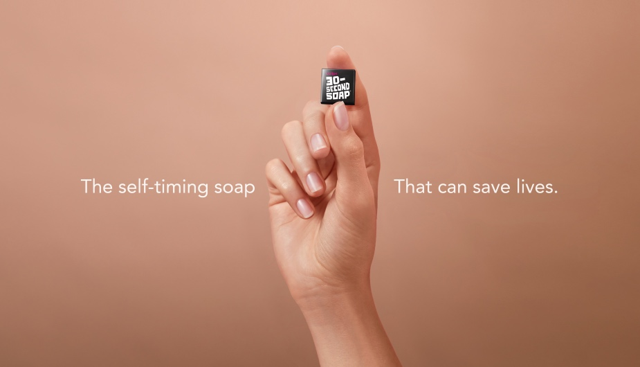 These Tiny Soaps from Lush and Deliveroo Take Exactly 30 Seconds to Wash Your Hands