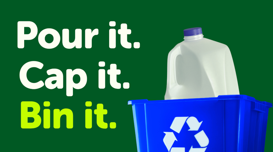 California Milk Advisory Board Urges Californians to 'Recycle the Jug' in Public Information Campaign