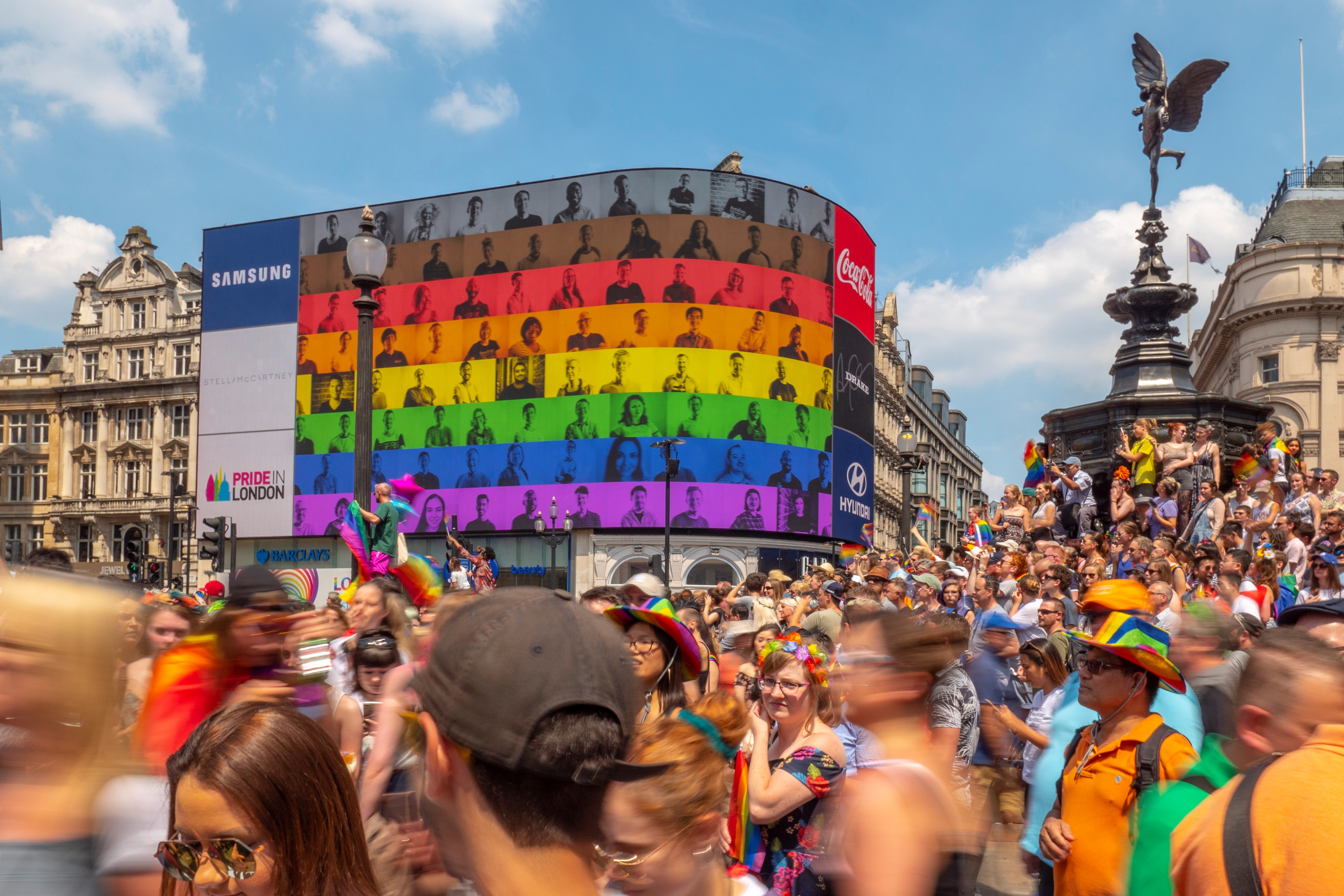 Landsec's Piccadilly Lights Joins Pride in London with First Ever Audio-Synched Campaign