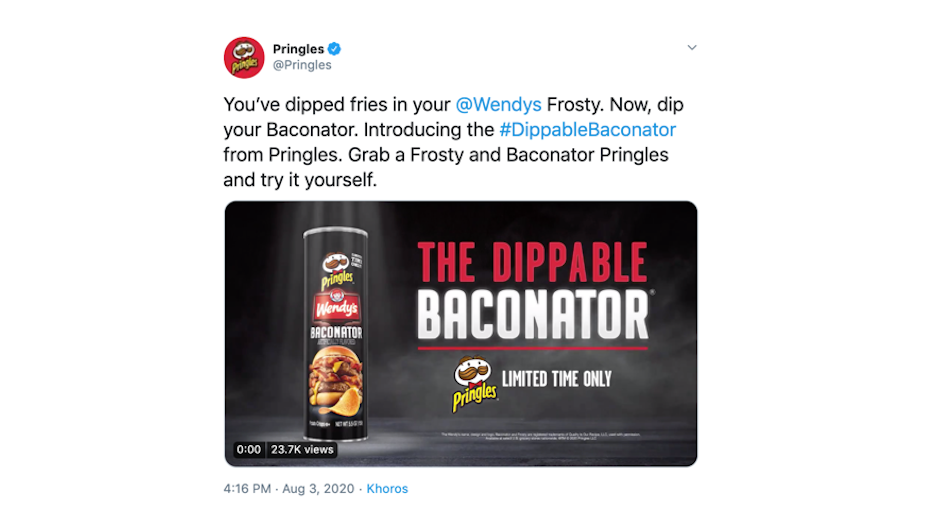 Pringles Baconator Crisps Explode on Twitter via Grey New York
