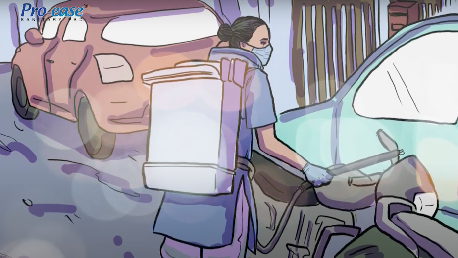 Pro-Ease Salutes Female Covid-19 Warriors in Animated Spot