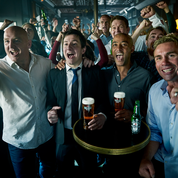 Anyone Can Be a Fan in Heineken's Rugby World Cup Campaign by Publicis Italy