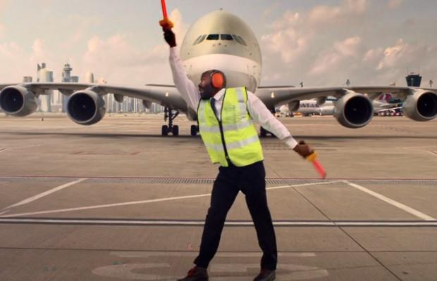 Football Fun in Qatar Airways' Jubilant World Cup Campaign