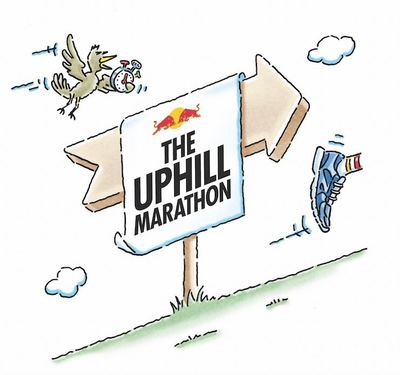 Red Bull and Special Group Challenge Runners to Go Steeper Not Faster with 'The Uphill Marathon'