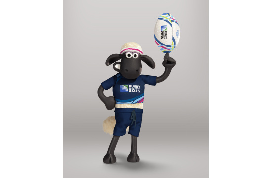 Shaun the Sheep Scores Rugby World Cup 2015