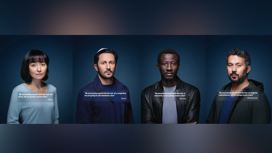 Compelling LICRA Campaign Gives Voice to Fear in Fight against Racism