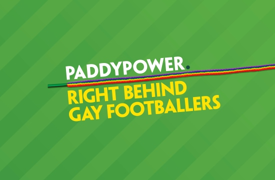 Paddy Power Fights Footie Homophobia