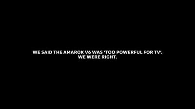 Volkswagen and DDB Sydney Launch Substantially More Censored TVC for the Amarok V6