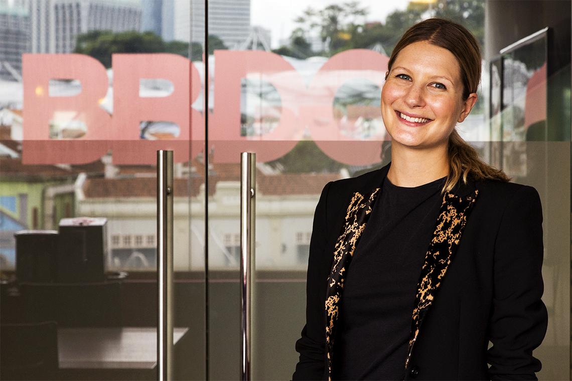 BBDO & Proximity Singapore Hires Planner Rebecca Nadilo