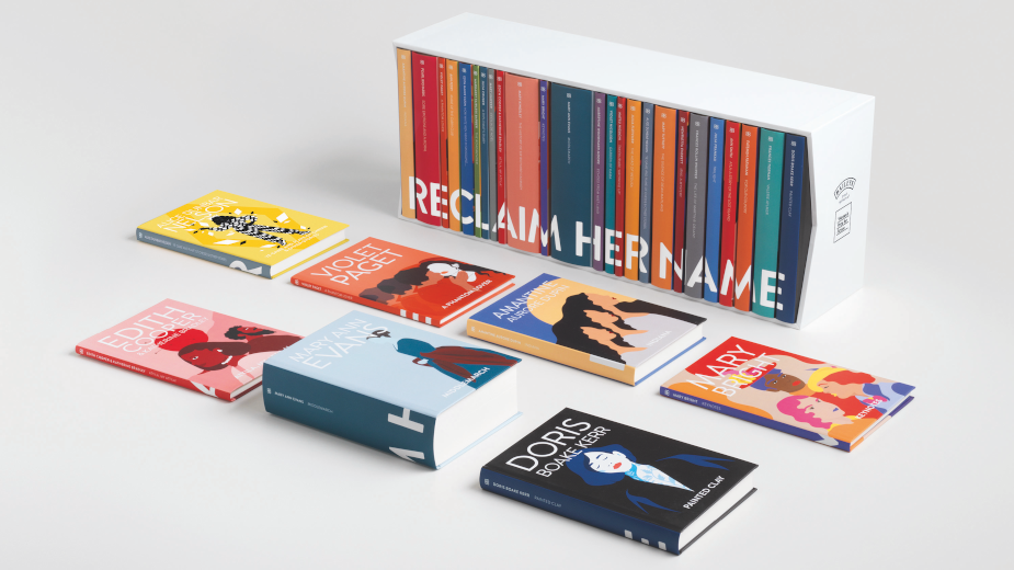 Baileys Banishes Male Pseudonyms for Reclaim Her Name Novel Collection