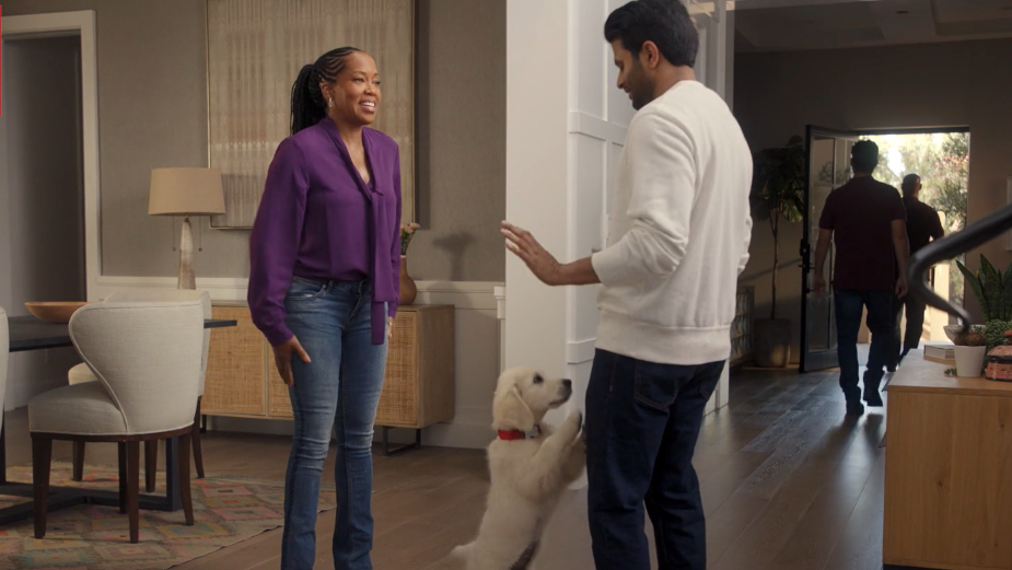 Actress Regina King's Puppy Gets Her Real Life Ready for Wells Fargo's Credit Cards