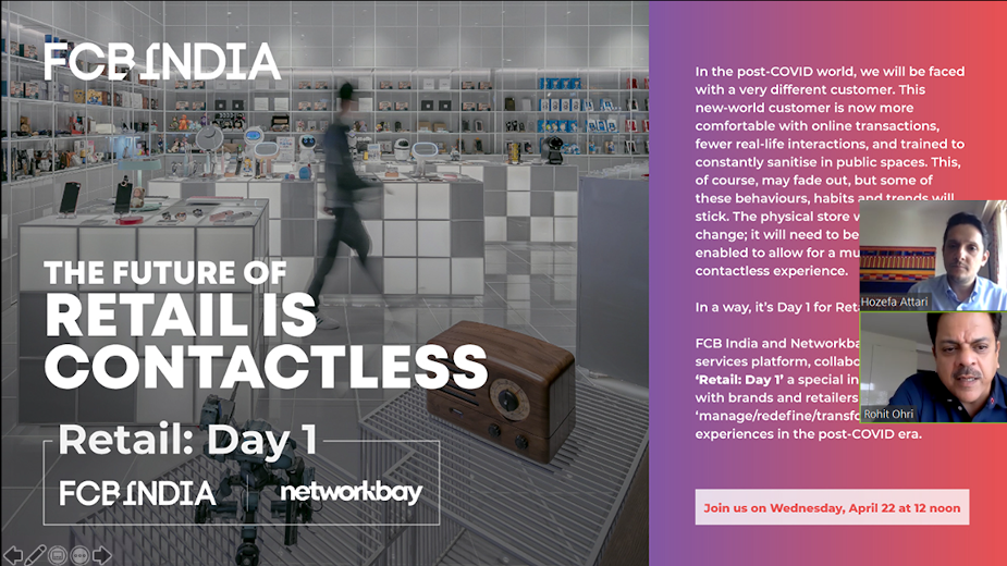 FCB India and Networkbay Launches 'Retail: Day 1'for Post-Covid World