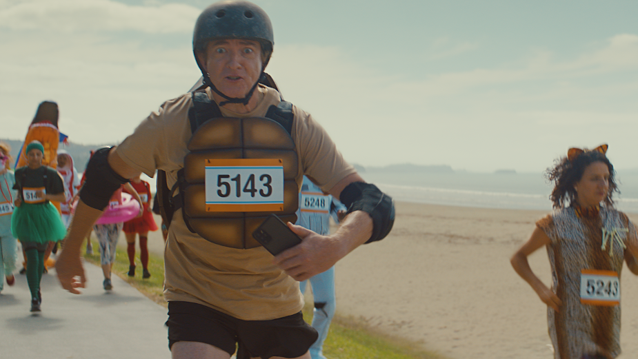 Flight of the Conchords' Rhys Darby dons Roller Skates and a Jetpack for Xero's Speedy Spot