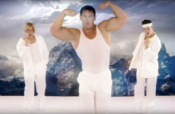 A '90s-Style Boyband of John Cenas Toast America for SKYY Vodka