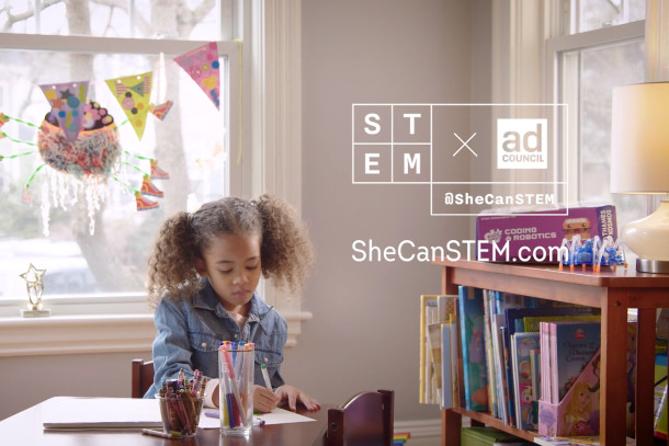 Ad Council Spots Show How Girls Can Be Inspired to Work in STEM