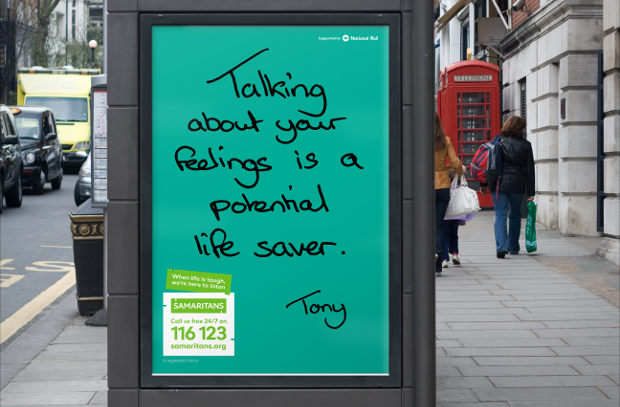 Samaritans Campaign Is Handwritten by Those Who Understand Best