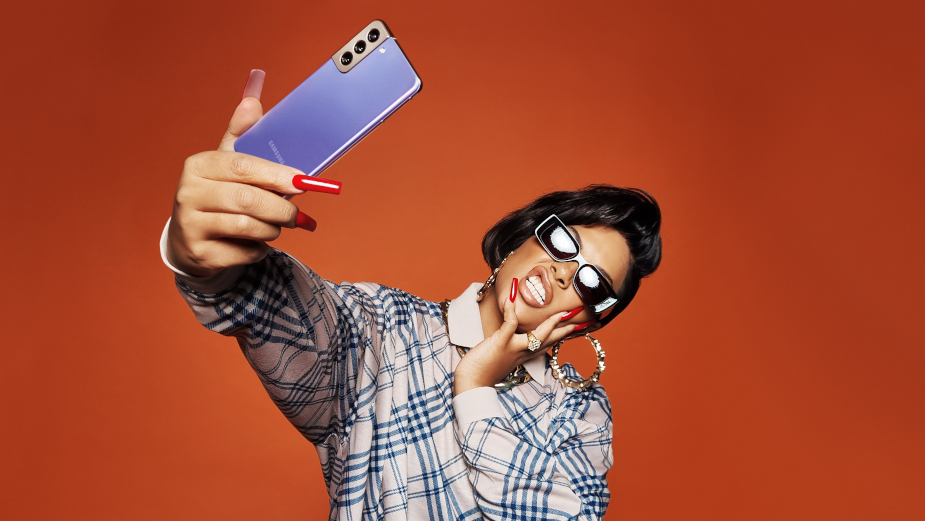 Rankin and Stefflon Don Team up with Samsung in Iconic Photoshoot Shot on Galaxy S21 Ultra