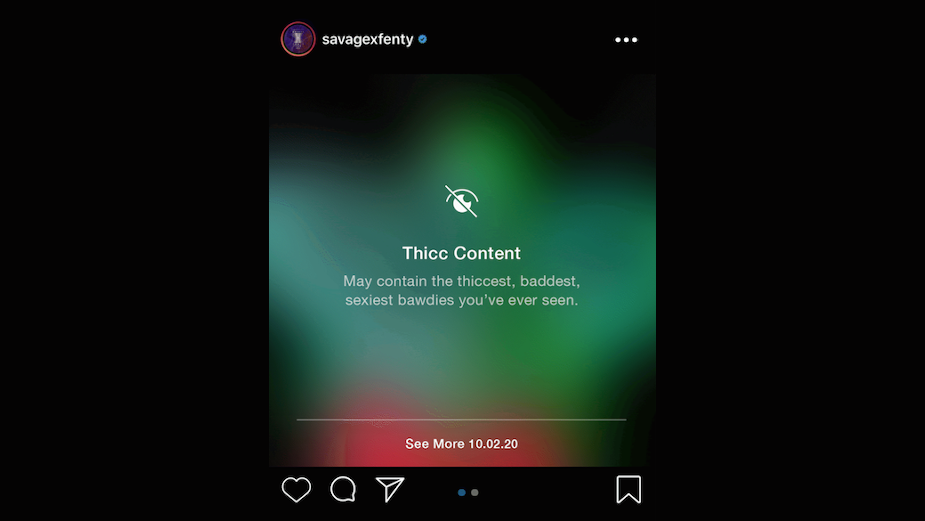 Mojo Supermarket and SavageXFenty Hack Instagram's 'Sensitive Content'