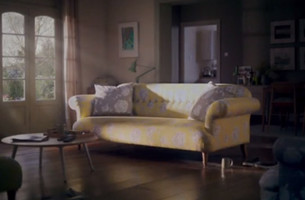 Watch This Living Room Come to Life in DFS' Refreshingly Spring-Like Spot