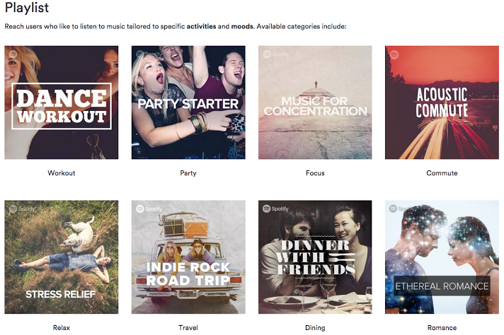Spotify Launches Playlist Targeting for Brands