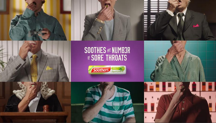 Ogilvy Sydney Showcases Any Number of Sore Throats for Soothers
