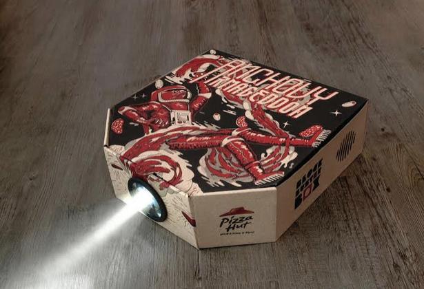 Ogilvy Hong Kong Creates World's First Pizza Box Movie Projector