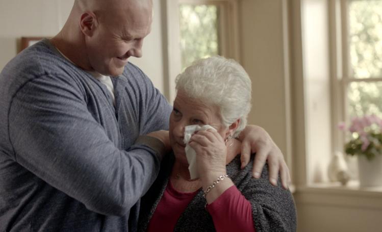 Hard Man Says 'Soften Up' in New JWT Kleenex Ads