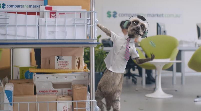 Comparethemarket Meerkats Aleksandr and Sergei Delight Fans Down Under