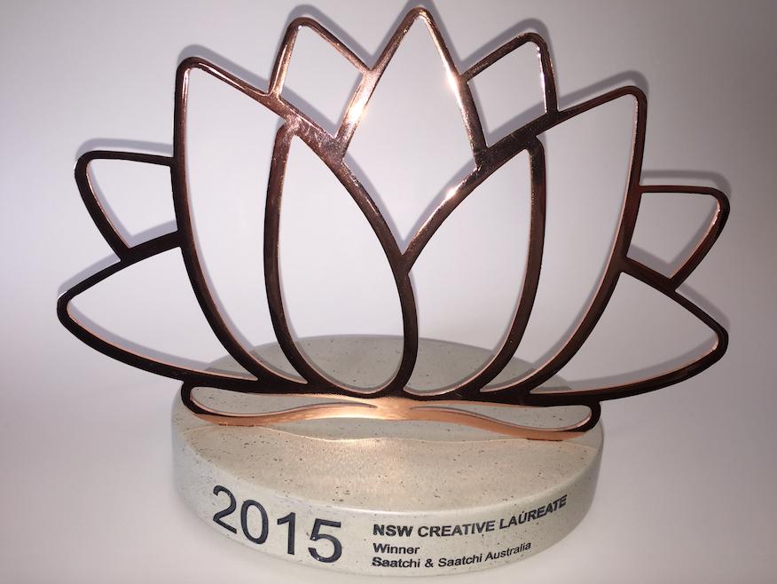 Saatchi & Saatchi Sydney Awarded 2015 NSW Creative Laureate