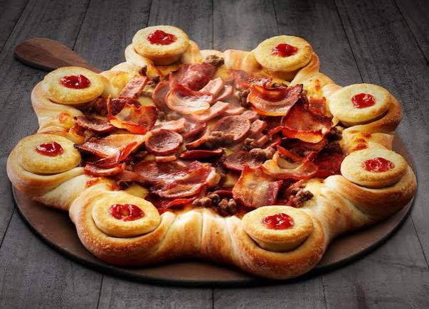 Pizza Hut & Four'N Twenty Announce Arrival of Their Lovechild: the Four'N Twenty Stuffed Crust